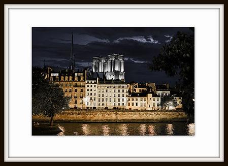 quais de Seine la nuit