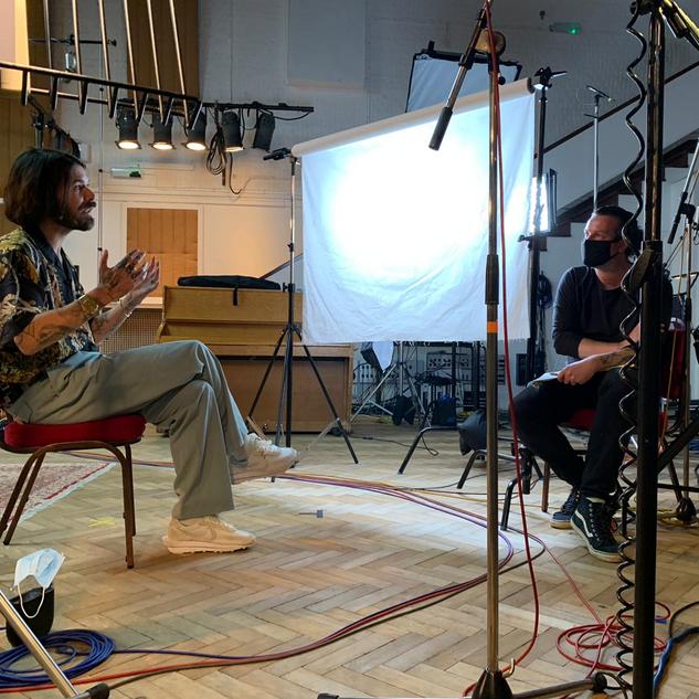 Biffy Clyro at Abbey Road Studios