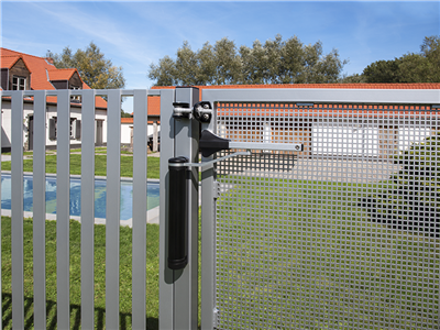 Lion Offset Hinged Gate