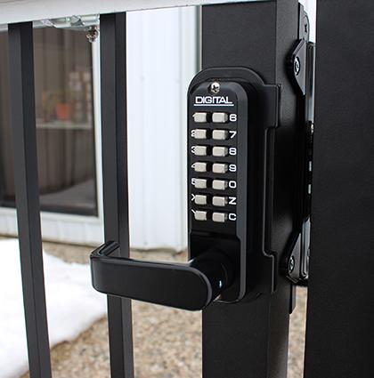 Sumo Gate Lock External Keypad