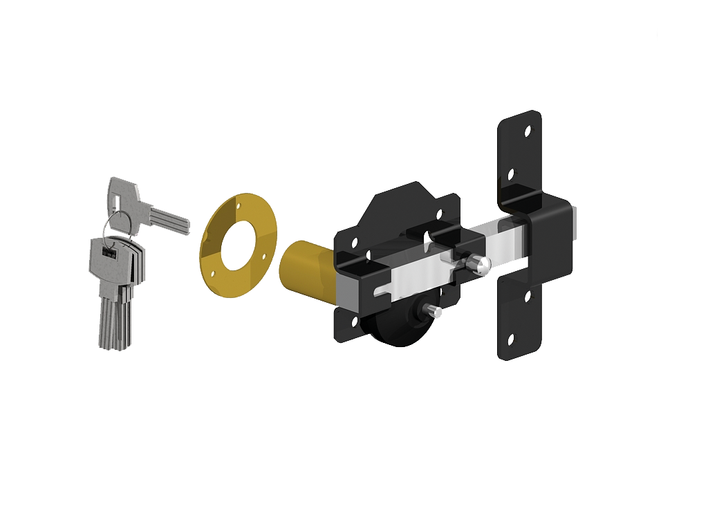 Garage Door Rim Lock Single Sided