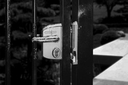 Std Gate Lock + Security Keep