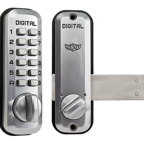 L220 Lockey Digital Door Lock Satin Chrome