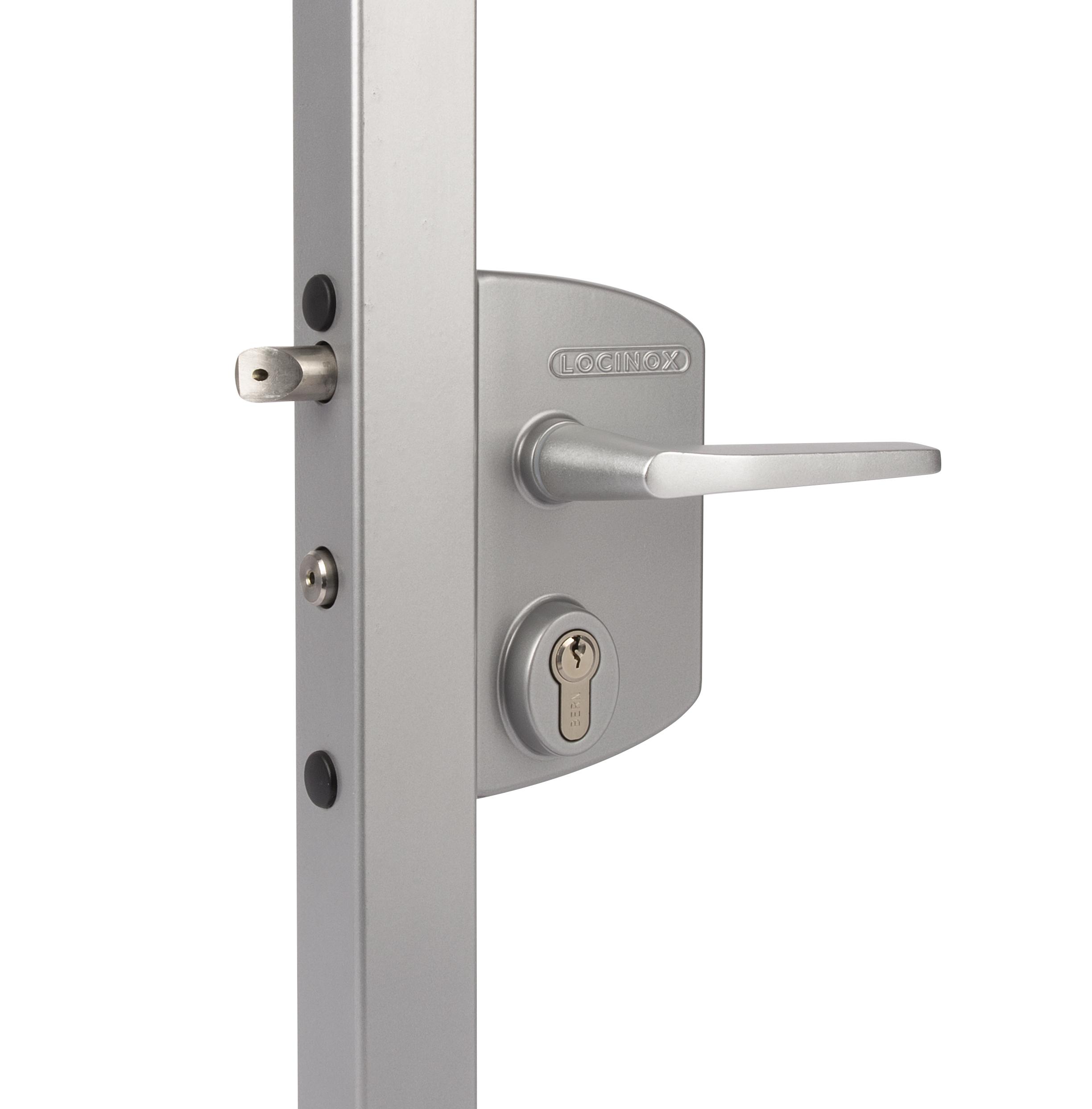 Locinox Standard Gate Lock - Silver