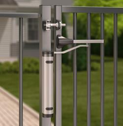 Verticlose Gate Closer Offset Hinge