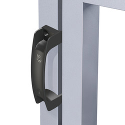 Gate Handle on gate