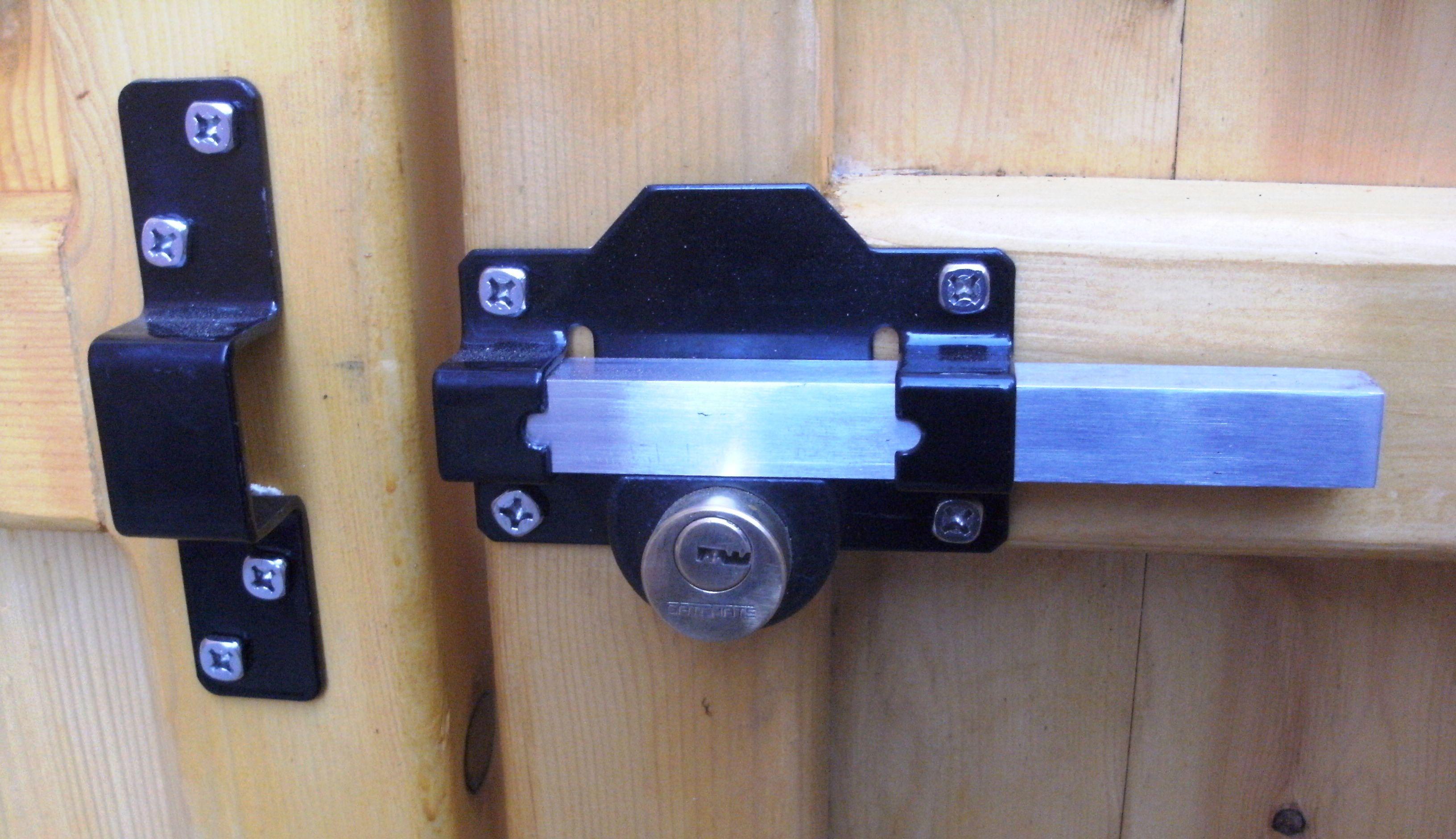 Gate Rim lock