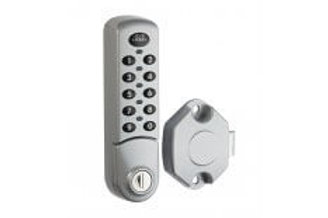 Lockey Cabinet & Locker Lock with Slam Latch 3780/2382