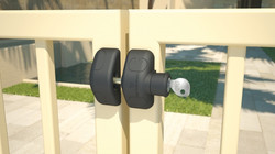 Magna Latch Side Pull Lockable