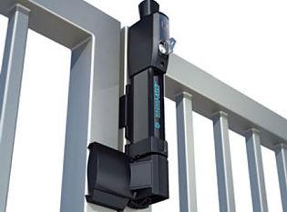 Magna latch vertical pull gate latch