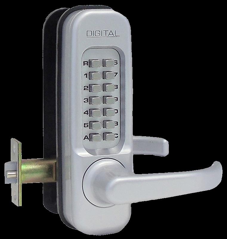 Lockey 1150 Keyless Door Lock with Spring Latch