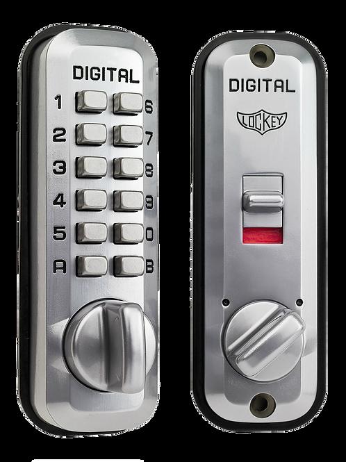 L235 Lockey Digital Door Lock Satin Chrome