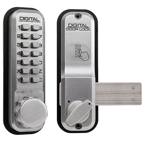 2200 Lockey Digital Door Lock Satin Chrome
