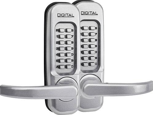 1150DS Lockey Keyless Door Lock Satin Chrome
