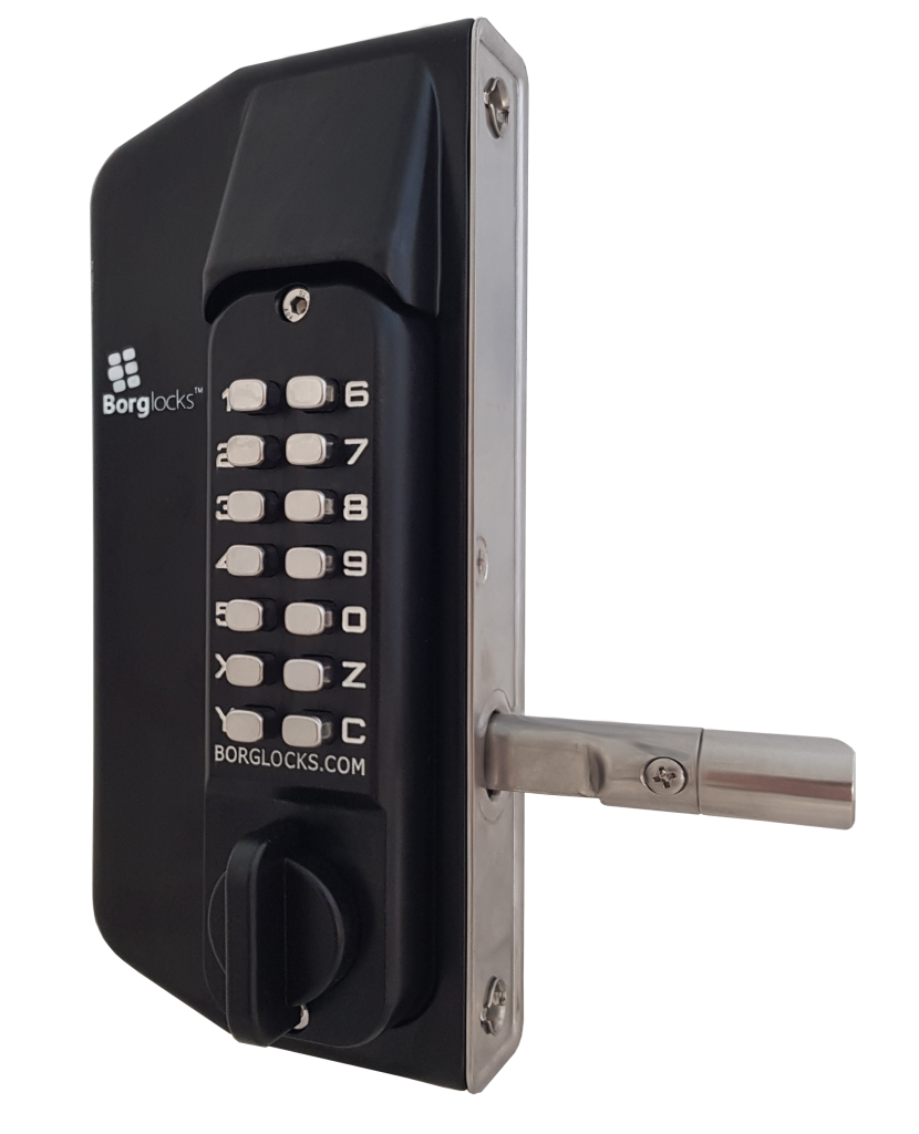 Borg Keypad Gate Lock