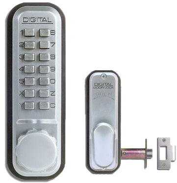 Lockey 2435 with Spring Latch