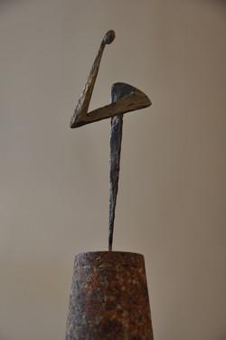 46 le Penseur sur socle Hauteur 19 cm.jpg