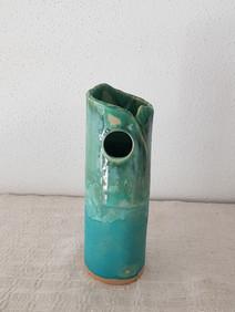 Vase Blue Wave #1