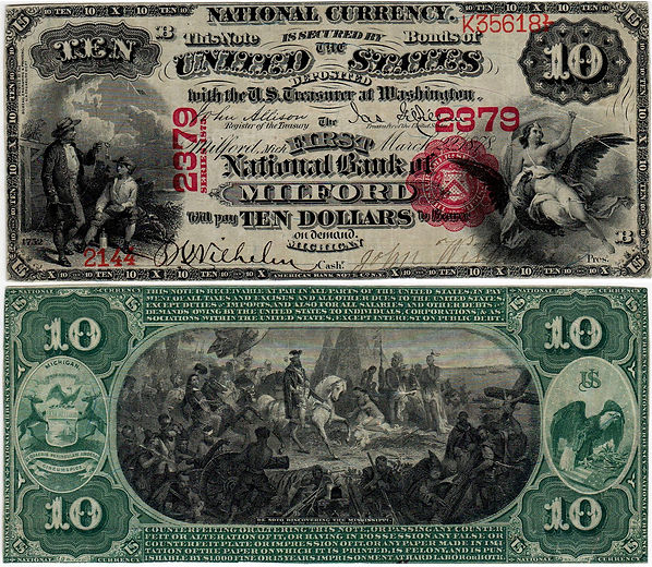 $10Lg_#2379_2144 Grinnell 6-16-45 Lot 19