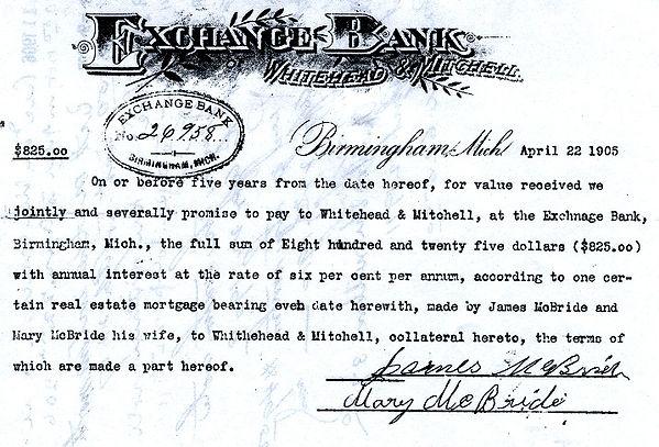 Whitehead & Mitchell Promissory Note.jpg