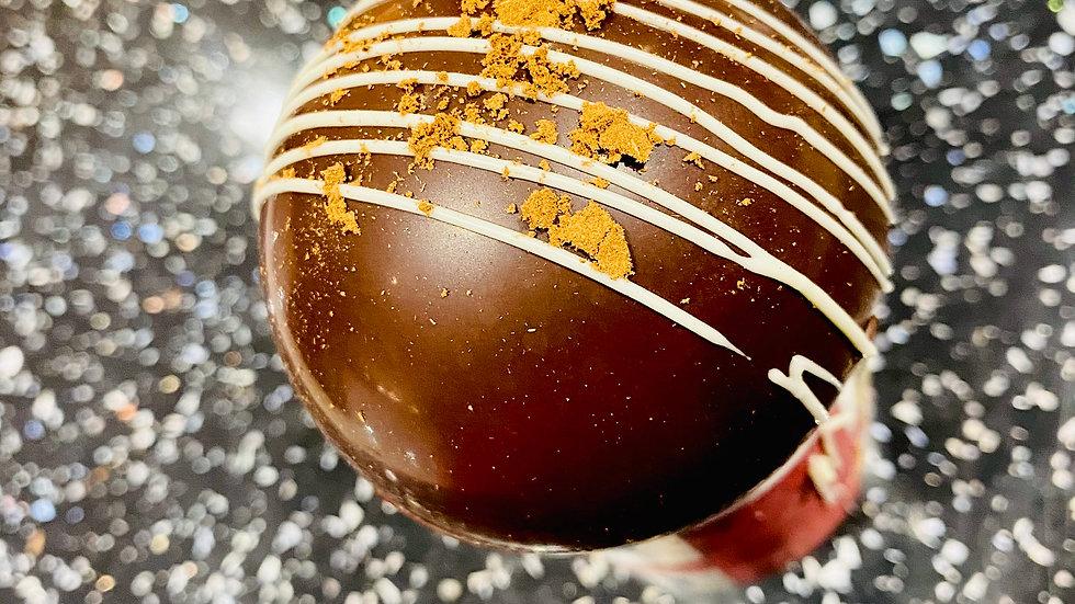 Dark Chocolate Orange Hot Chocolate Bomb
