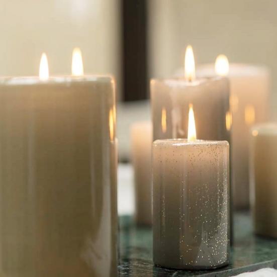 Hoogglans kaarsen - Rustik Lys