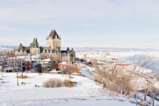 Beautiful Historic Chateau Frontenac in