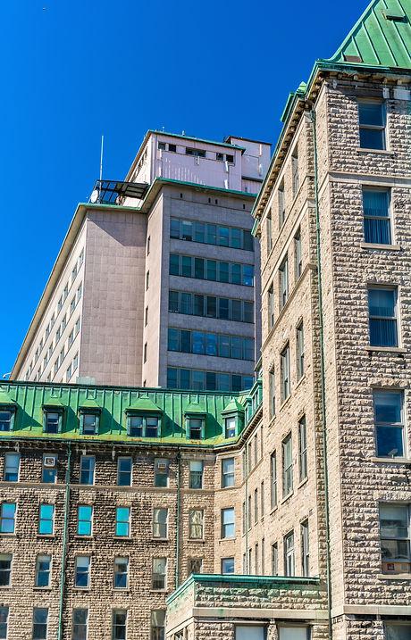 Hotel-Dieu de Quebec, a historic hospita