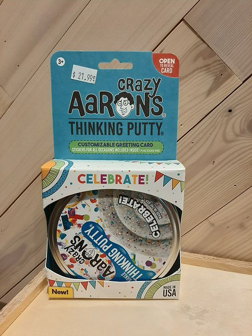 Crazy Aaron's Celebrate Putty