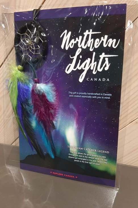 Dream Catcher Card: Northern Lights