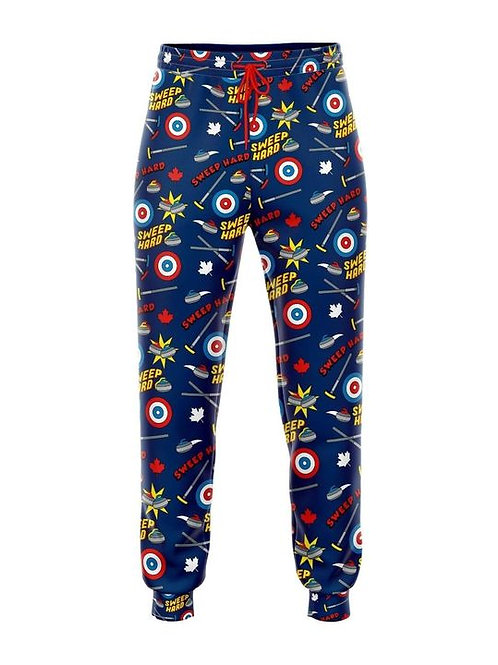 Pajama Pants: Curling