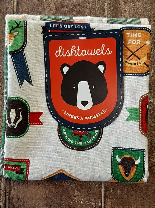 Dishtowel set: Around the Campfire