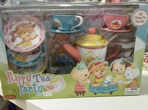 Puppy Tea Set