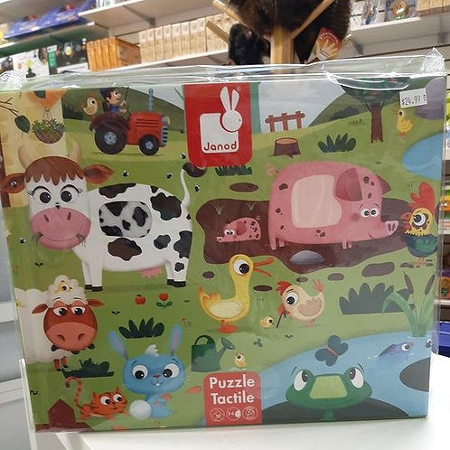 TACTILE PUZZLE - FARM ANIMALS (AGES 3-6)