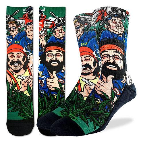 Men's Cheech & Chong DEA Socks