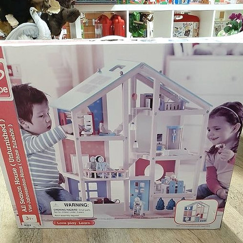 Hape All Season Dollhouse Unfurnished
