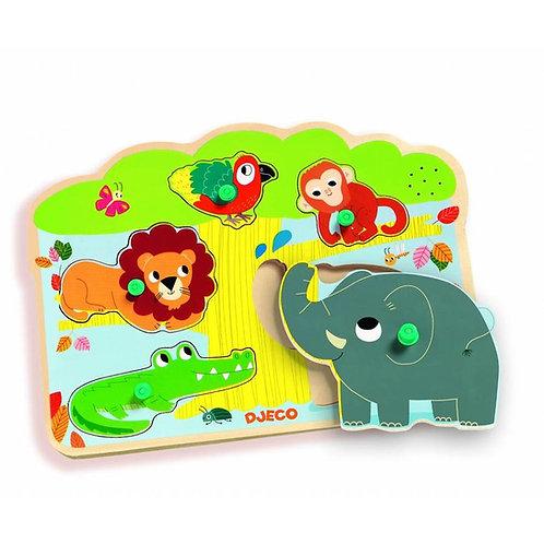 Sound Puzzle Baobab/Safari