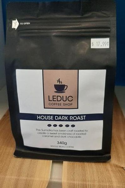 Leduc Coffee Shop Coffee Beans