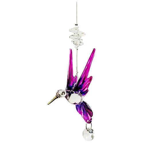 Hummingbird Crystal Art