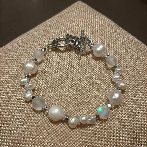 Freshwater pearl bracelet 3