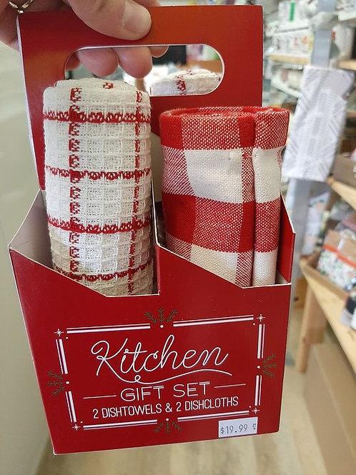 Christmas Kitchen Gift Set