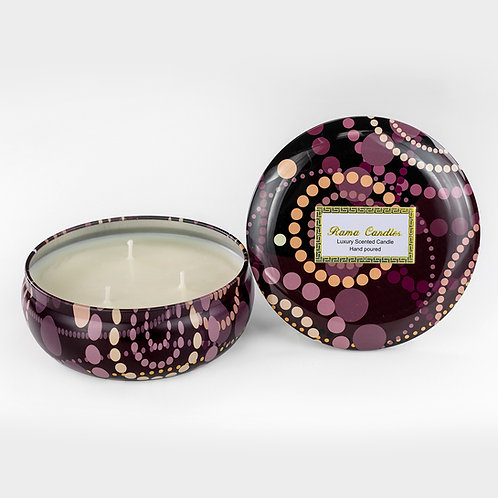 3 Wick Candle: Strawberry Swirl