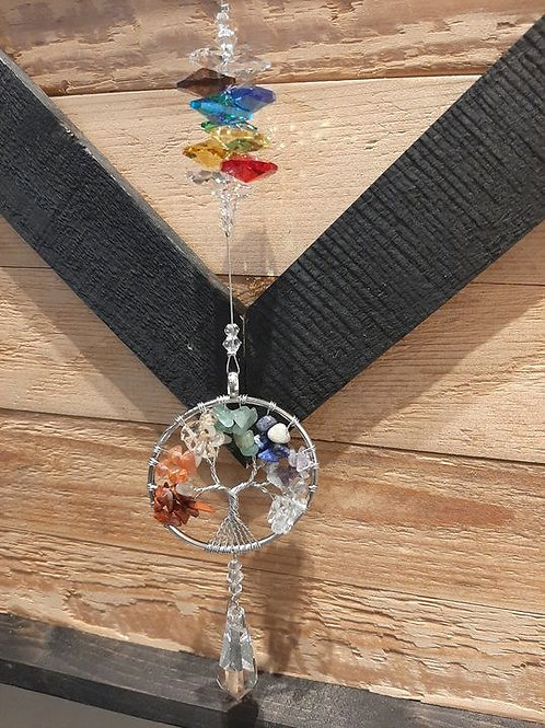 Tree of Life Crystal Art