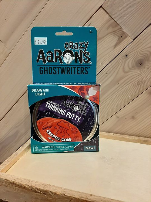 Crazy Aaron's Ghostwriter: Cryptic Code
