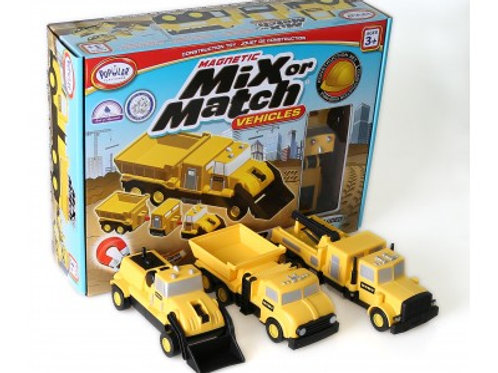 Mix or Match Vehicles: Construction Set