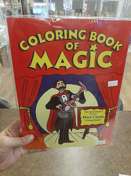 Coloring Book Trick Magicians Choice 8.5 x 11 inches