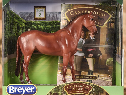 Breyer: Canterwood Crest Chasing Blue