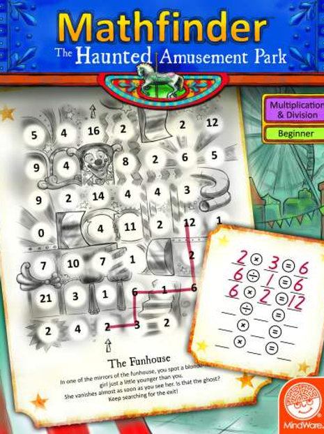 Mathfinder: Haunted Amusement Park