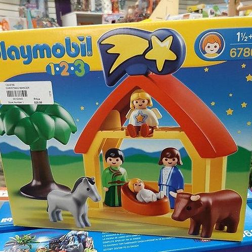 Playmobil 1.2.3 Nativity Set