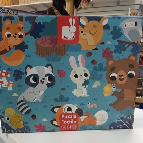 TACTILE PUZZLE - Forest Animals (AGES 3-6)